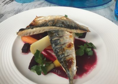 Clovelly herring beetroot 2